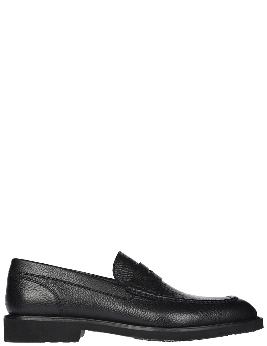 Мужские лоферы Moreschi 778-black