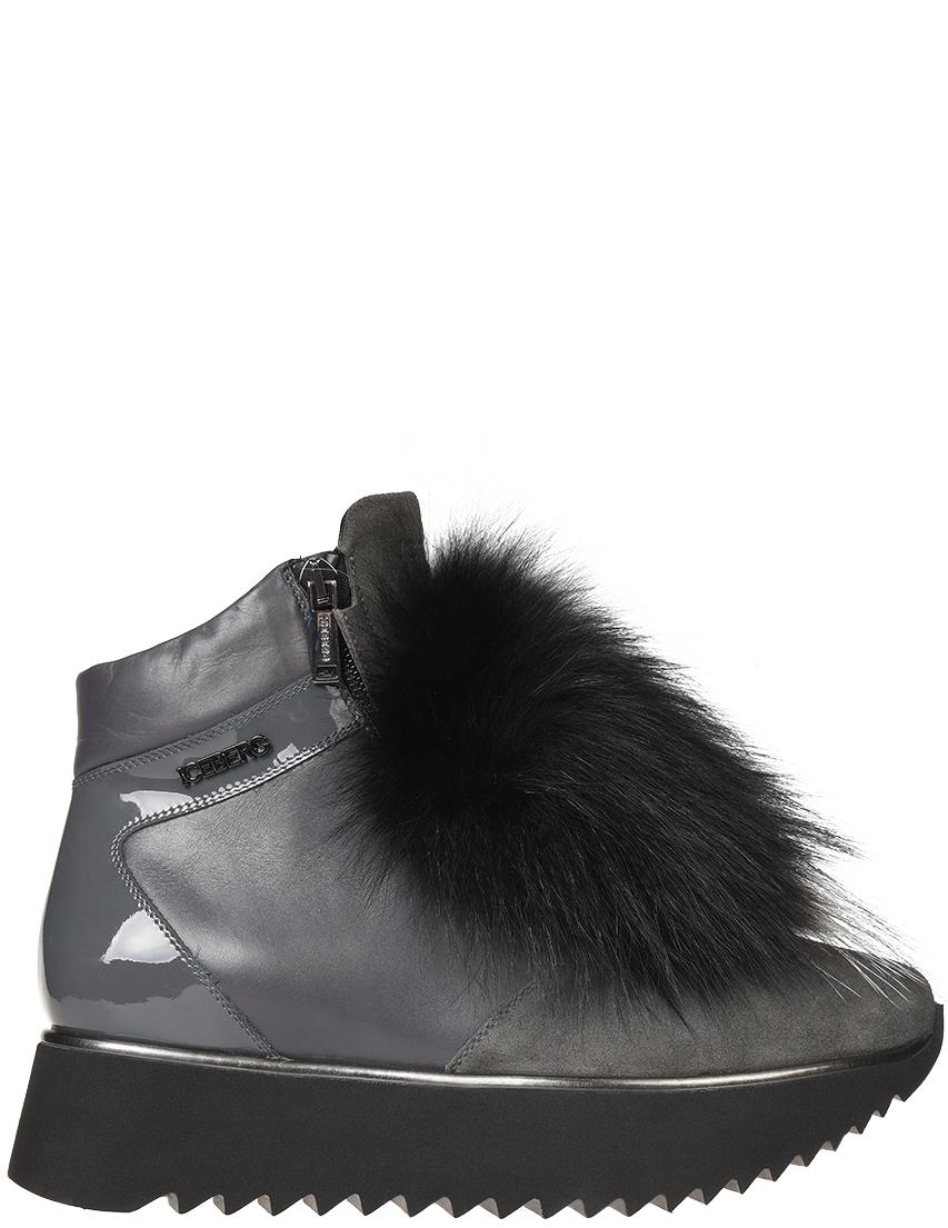 Женские ботинки Iceberg 1394-L-grey-fox_gray