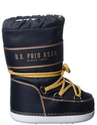 Детские сапоги для девочек U.S.POLO ASSN. Auberon_black