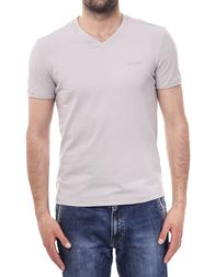 Мужская футболка ERMANNO SCERVINO FSer710_gray
