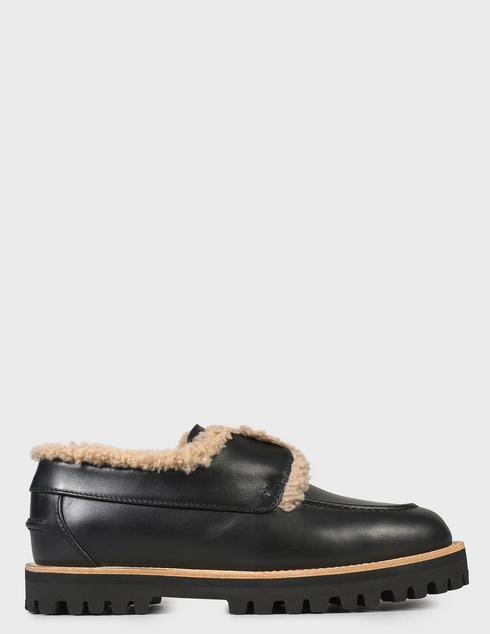 женские черные Ботинки Le Silla AGR-5182T020-NERO - фото-6