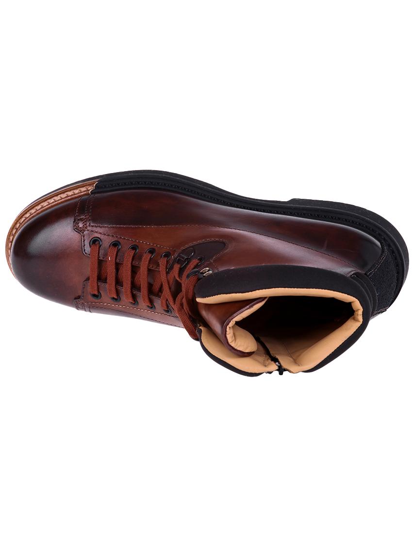 Фото 7 - мужские ботинки и полуботинки  коричневого цвета