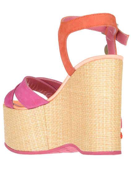 розовые женские Босоножки Blumarine 4330-З-fuxia-orange_pink 4900 грн