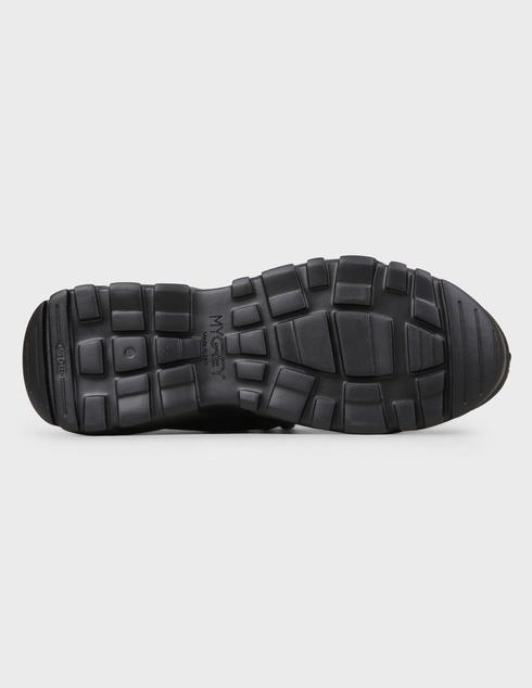 черные Кроссовки My Grey 028-R-black размер - 41