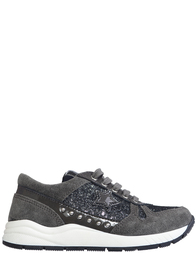Детские кроссовки для девочек Naturino 4261-antracite-nero-gray