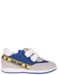 Детские кроссовки для девочек Roberto Cavalli H41710A_gray