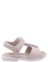 Детские босоножки для девочек MOSCHINO 25424-white