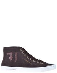 Женские кеды Trussardi Jeans 79226_brown
