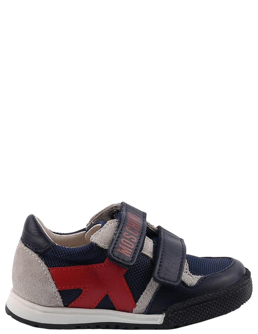 Детские кроссовки для мальчиков MOSCHINO 25398-blue