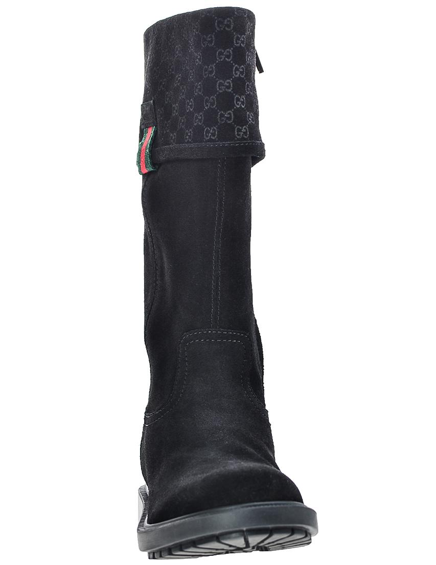 Фото 4 - Сапоги черного цвета