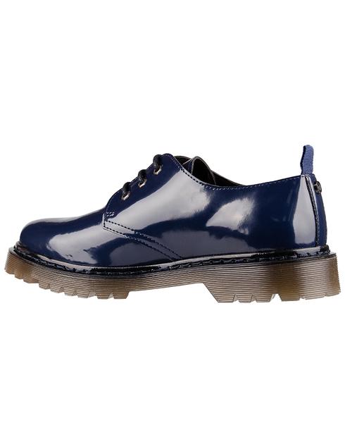 мужские синие Дерби Trussardi 77A001259Y099999-U280 - фото-2