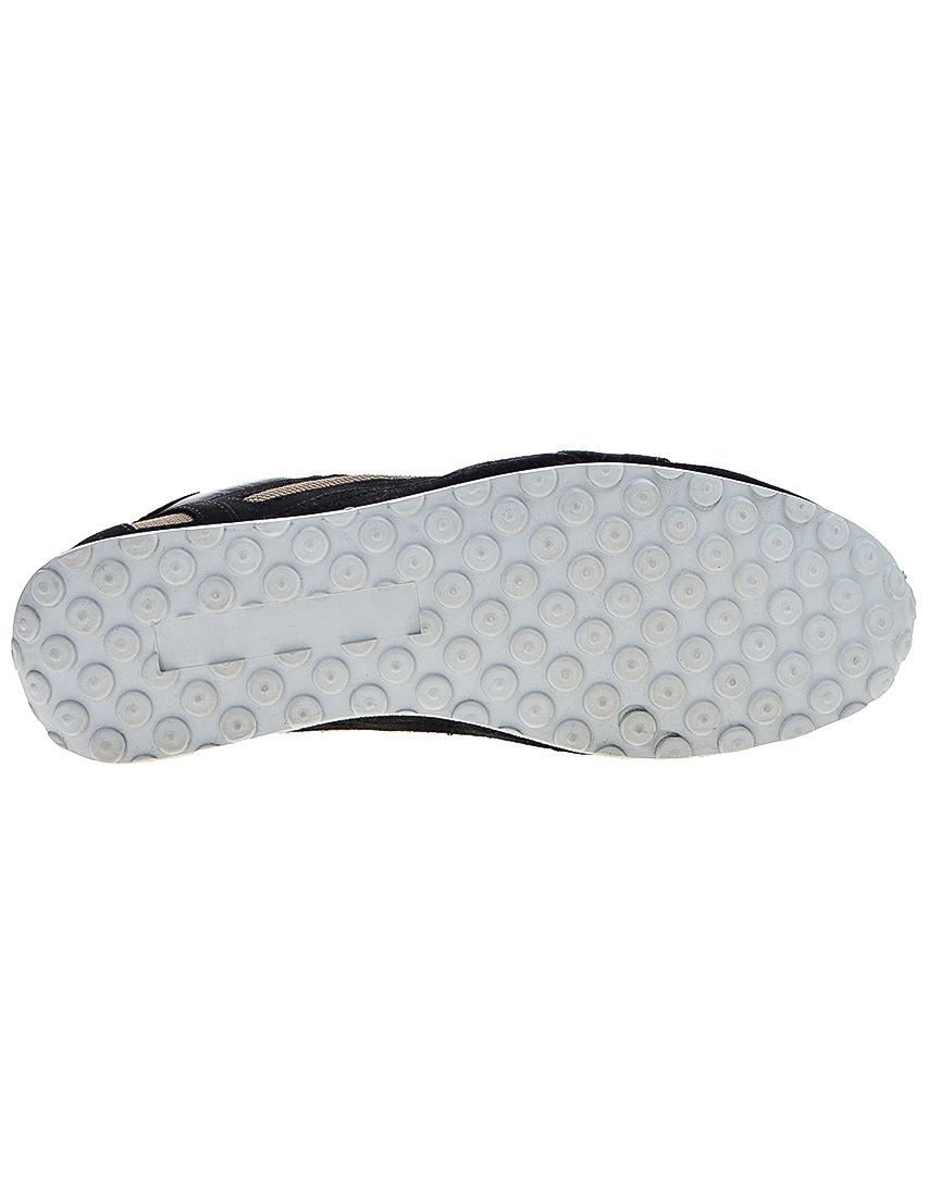 Фото 6 - мужские кроссовки  черного цвета