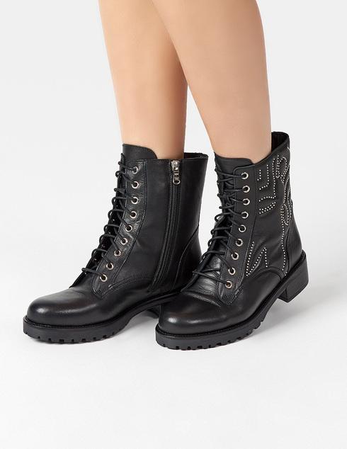 черные Ботинки Patrizia Pepe 2V9150/A5W6-K103