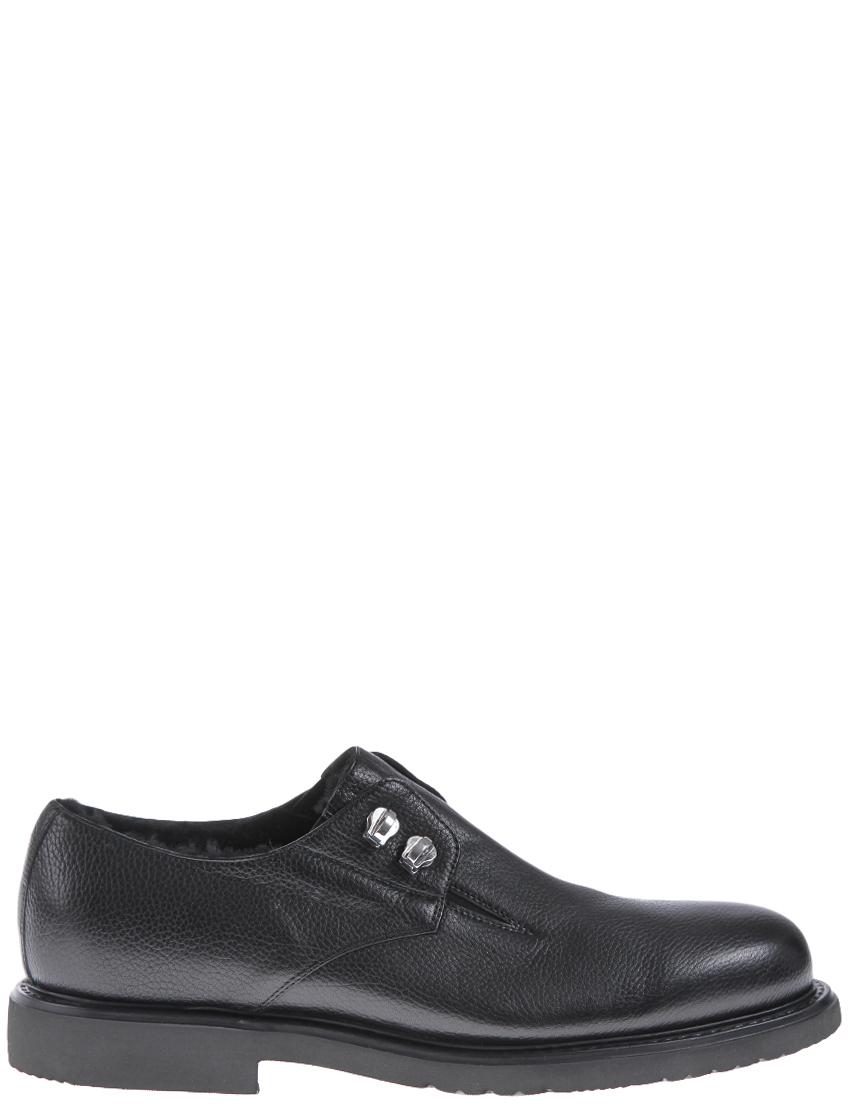 Купить Туфли, CESARE PACIOTTI, Черный, Осень-Зима