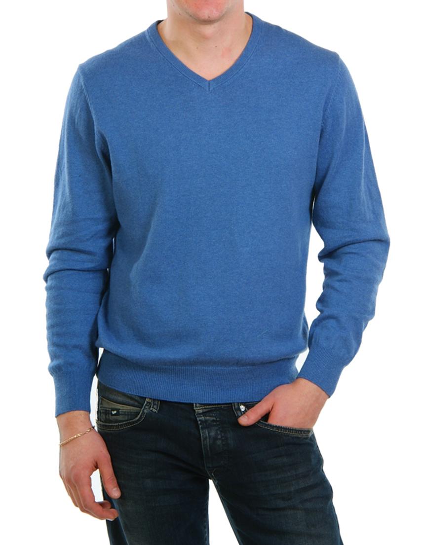 Мужской пуловер MAGLIERIE DI PERUGIA 14802-Bblue
