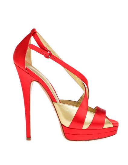красные женские Босоножки Casadei 6476_red 6807 грн