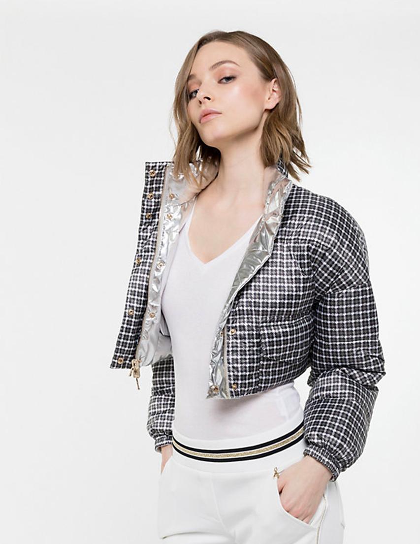 Купить Куртка, PATRIZIA PEPE, Серый, 100%Полиэстер, Осень-Зима
