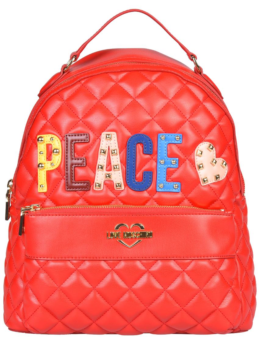 Рюкзак Love Moschino 4227-К_red