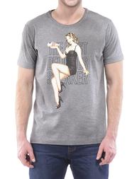 Мужская футболка DIRK BIKKEMBERGS AGR-DB7470186542