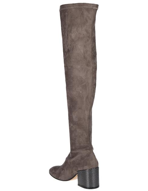 женские коричневые Ботфорты Fabio Rusconi 1133-З-STR-fango_beige - фото-2