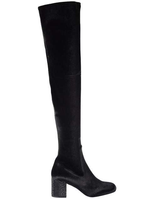 черные Ботфорты Rene Caovilla 931-black размер - 37; 38; 40