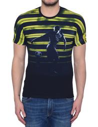 Мужская футболка BIKKEMBERGS 720S-C74_black