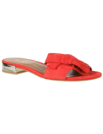 женские красные Шлепанцы Emporio Armani X3P702XF159-00640 - фото-2