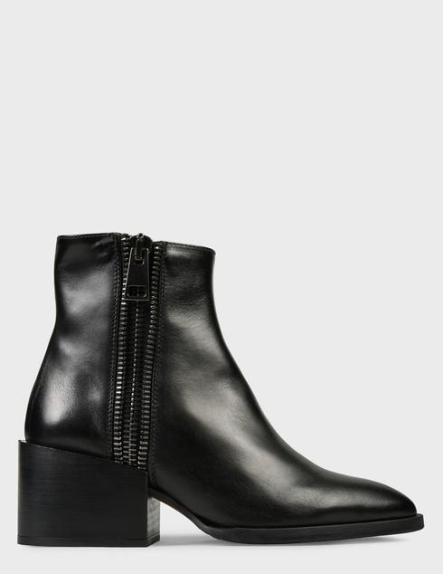 женские черные Ботинки Pertini 202W30242D1 - фото-6