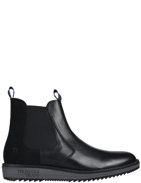 мужские черные Ботинки Trussardi AGR-77A002039Y099999-E708 - фото-2