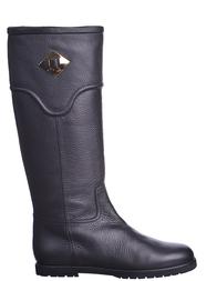 Женские сапоги VICINI 57026-black