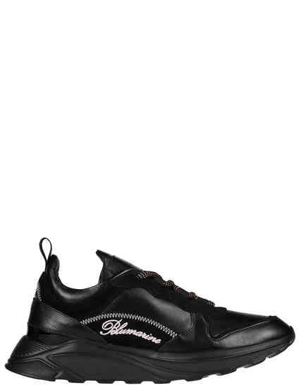 черные Кроссовки Blumarine 8451B