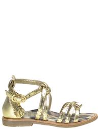 Детские сандалии для девочек ROBERTO CAVALLI I40692_gold