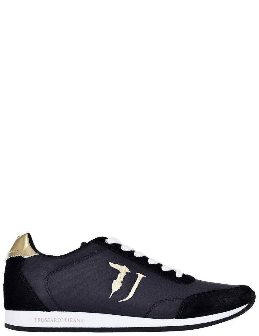 Фото - женские кроссовки  черного цвета