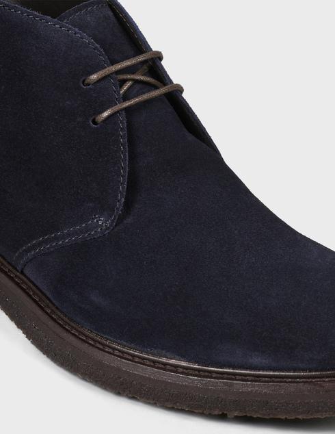 мужские синие замшевые Ботинки Henderson Baracco 59514.16 - фото-5