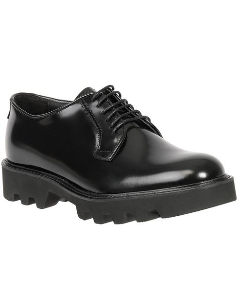 черные мужские Дерби Emporio Armani X4C437XF057-000002 10238 грн