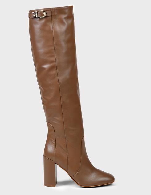 женские коричневые кожаные Сапоги Patrizia Pepe 2V9385_A3KW-B655 - фото-5