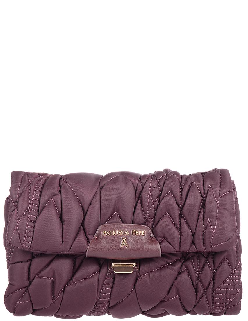 Купить Женские сумки, Сумка, PATRIZIA PEPE, Бордовый, Осень-Зима
