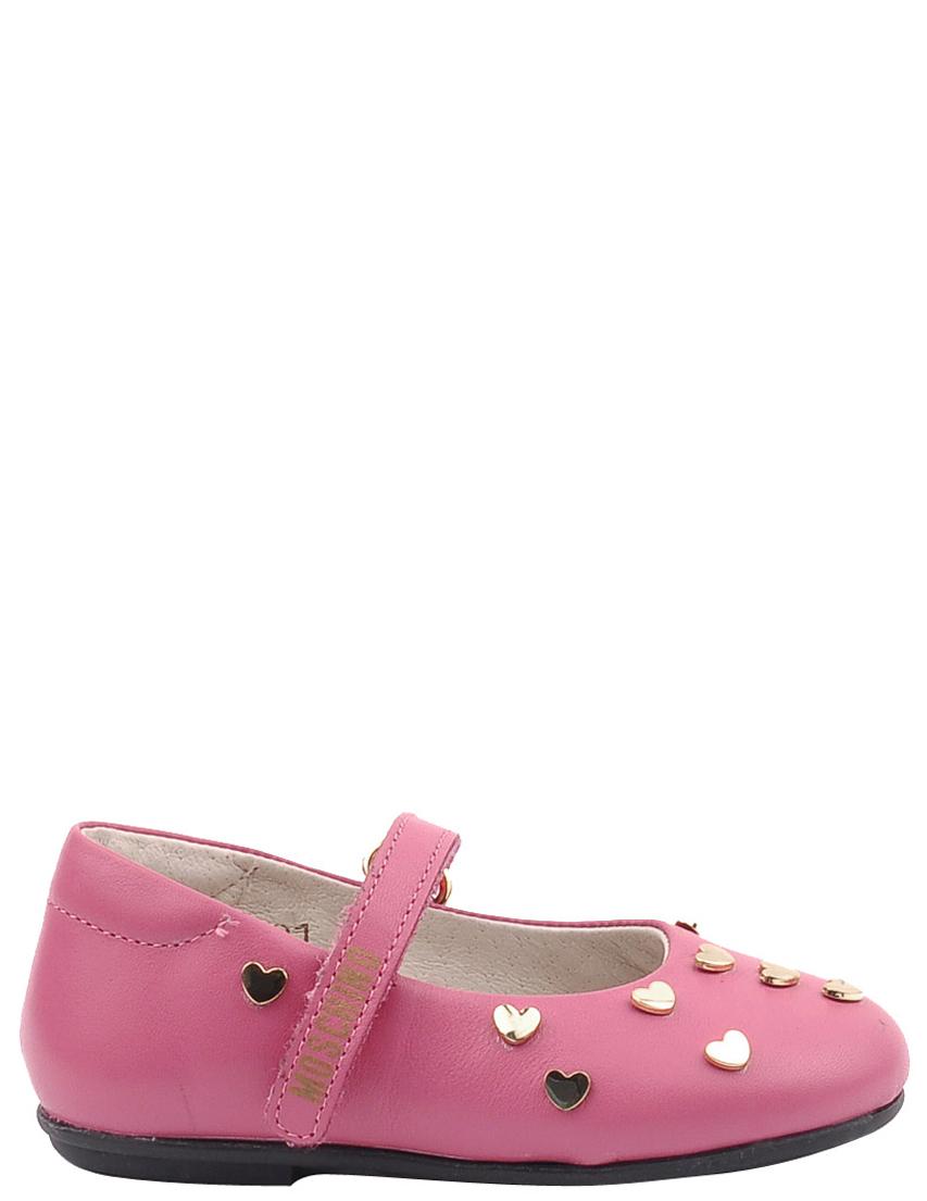Детские туфли для девочек MOSCHINO 25354-rose