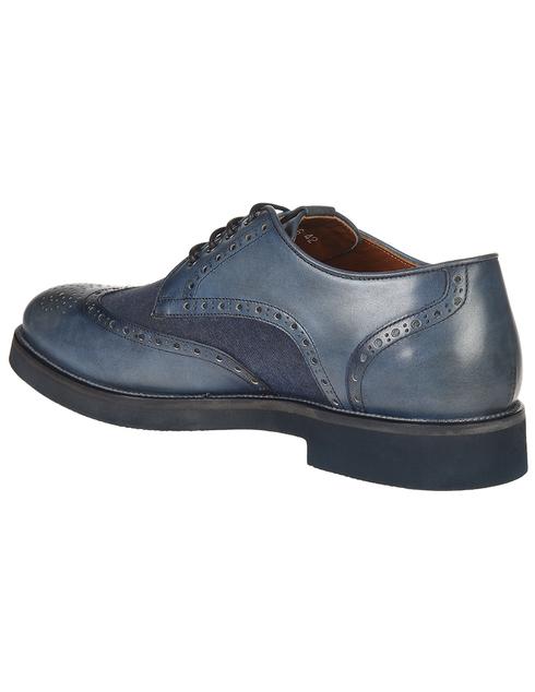 мужские синие Броги Franceschetti 4033016-navy - фото-2
